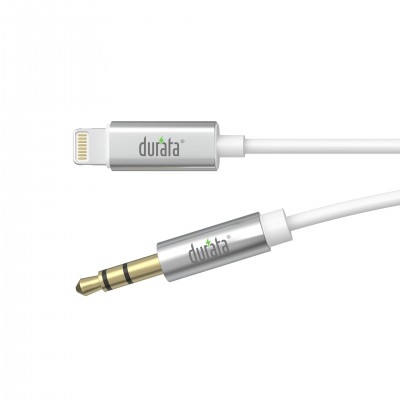Durata Lightning to 3.5mm Audio Jack DR-MU01