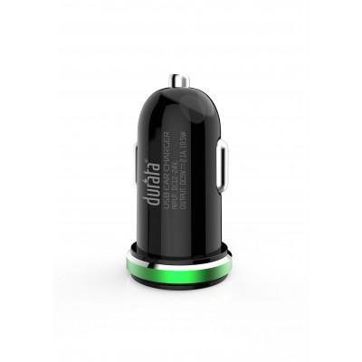 Durata Car Charger Dual USB 2.1A - White (DR-C22)